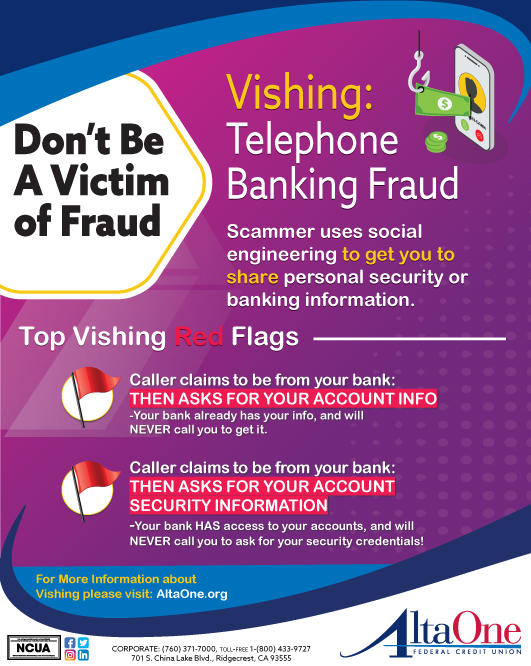 Fraud Prevention Altaone Federal Credit Union